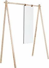 Karup Design - Hongi Garderobe mit Spiegel, Natur