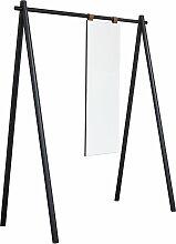 Karup Design - Hongi Garderobe mit Spiegel, schwarz