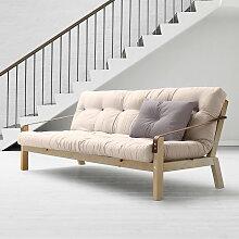 Karup Design - Poetry Sofa, Kiefer klar lackiert /