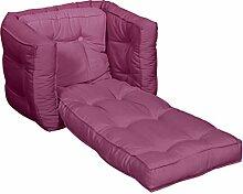 KARUP Kommune Baby Dice Stuhl, Baumwolle/Polyester, Pink 735, 40x 40x 40cm
