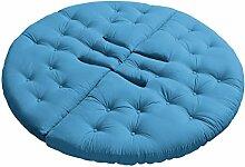KARUP Kommune Nest Futon Chair Stuhl, Baumwolle/Polyester, Blau Horizont 739, 85x 90x 75cm