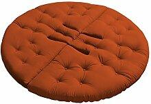 KARUP Kommune Nest Futon Chair Stuhl, Baumwolle/Polyester, Orange 738, 85x 90x 75cm
