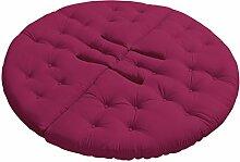 KARUP Kommune Nest Futon Chair Stuhl, Baumwolle/Polyester, Pink 735, 85x 90x 75cm