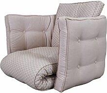 KARUP Kommune sagt Futon Chair Stuhl, Baumwolle/Polyester, Morrocan Pfingstrosen 351/Pink Peonies 749, 200x 120x 12cm