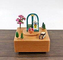 Karussell Musik-Box Für Kinder,Kreative Cute DIY