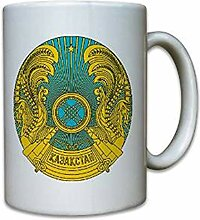 Kasachstan Russland Republik Land Wappen- Tasse