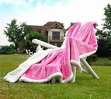 Kaschmir Decke/ wattierte Decke/ Office napping Decke/[Warme Decke]/ couch Decke/ Doppel-decken-D 160x230cm(63x91inch)
