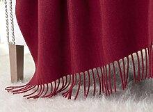 Kaschmirdecke, Wolldecke aus 100% Kaschmir