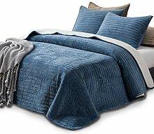 KASENTEX Bettwäsche-Set aus Plüsch und SAMT,