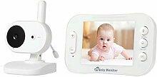 kashyk Baby Monitor 3,5 Zoll Kamera Babyphone