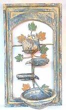 Kaskaden-Wandbrunnen VINO mit Wasserpumpe, 70 x 40 x 20 cm