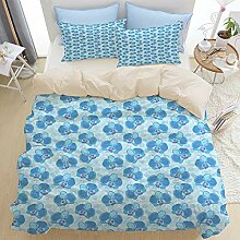 KASMILN beige Bettwäsche Set,Empfindliche