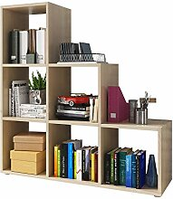 Kassi - Bücherregal/Treppenregal 3x3 mit 6