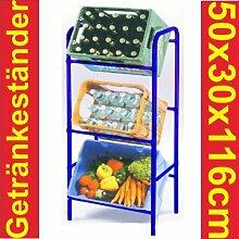 Kastenständer Kistenständer Kastenregal für 3 Kästen