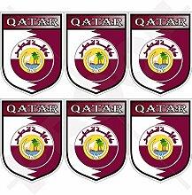 KATAR Schild Staat von Katar, Katar 40mm Mobile,