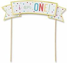 Kate Aspen 28272BL 1st Birthday Cake Topper
