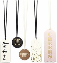 kate spade Wein Tag Set Cheers