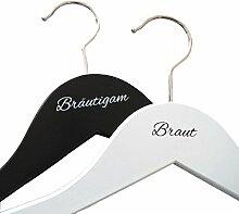 KATINGA Kleiderbügel Braut/Bräutigam für das