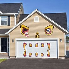 KATOOM Halloween Monster Gesicht Dekorationen Set