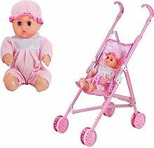 Katurn Puppenset Kinderwagen , Puppensammlung