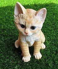 Katze klein/Deko/Gartendeko/Dekoration/Tiere