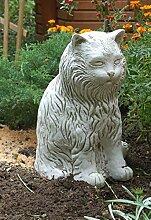 Katze (S200) Katzen Tiere Tier Gartendeko