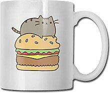 Katzen auf Hamburger Mode Kaffeetasse Porzellan