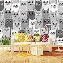 Katzen Tier Tapete Fototapete Home Schlafzimmer