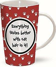 Katzenhaare - Cat Hairs - Mug - Becher - Latte