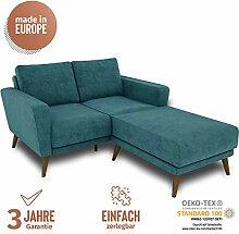 KAUTSCH Hochwertiges Zweisitzer Sofa für