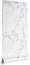 Kave Home - Marbela 10 x 0,53 m Tapete, blau FSC