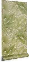 Kave Home - Tropic 10 x 0,53 m Tapete, grün FSC