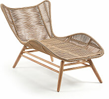 Kave Home - Zabel Lounge Sessel FSC 100%