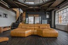 KAWOLA Big Sofa TARA Wohnlandschaft Leder cognac