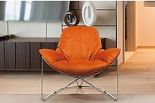 KAWOLA Sessel OSCA Loungesessel Relax-Sessel Stoff
