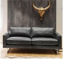 KAWOLA Sofa ALINE Ledersofa 3,5-Sitzer Leder