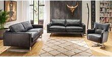 KAWOLA Sofa-Garnitur ALINE 3 teilig 3,5-Sitzer,