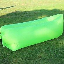 Kaxima Camping Picknick Matte im Freien aufblasbaren Kissen Sofabett portable faul aufblasbares Bett Strand Schlafsack 200x70cm
