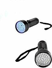 Kaxima LED Multifunktions-Taschenlampe violett Aluminium Taschenlampe Multifunktions kleines elektrisches Licht Skorpion Lampe