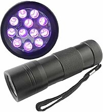 Kaxima LED violett Taschenlampe fluoreszierende Lampe