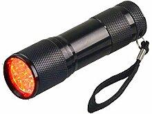 Kaxima LED wasserdicht rot Taschenlampe