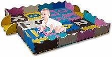 Kay Baby Krabbeldecke für Babys, Kleinkinder und