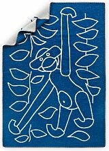 Kay Bojesen - Kinderdecke 80 x 120 cm, blau