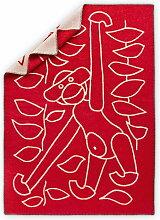 Kay Bojesen - Kinderdecke 80 x 120 cm, rot