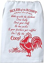 Kay Dee Rooster Mehl Sack Handtuch