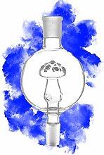 KAYA Shisha Molassefänger Pilz aus Glas | Rund
