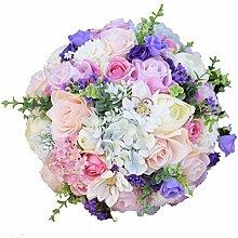 Kayard Brautstrauß Hochzeit, künstliche Braut,