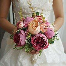 Kayard Künstlicher Brautstrauß für
