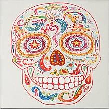 Kayoom Ölbild Skull 90cm x 90cm