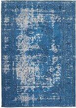 Kayoom Teppich, Baumwolle, Blau, 80x 13x 13cm